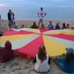 Wisełka - gry i zabawy nad morzem
